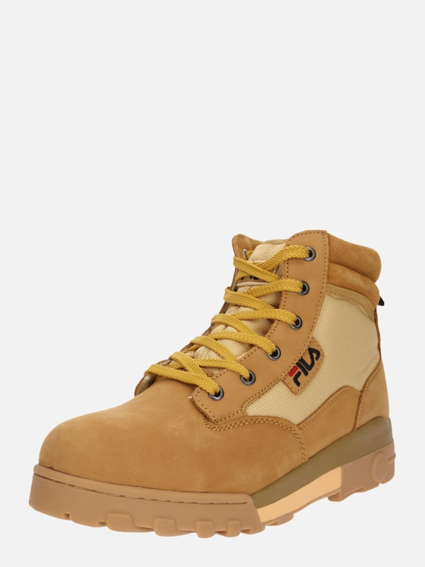 bcf150d559d FILA Veterboots 'Grunge mid' in Sand / Goudgeel | ABOUT YOU