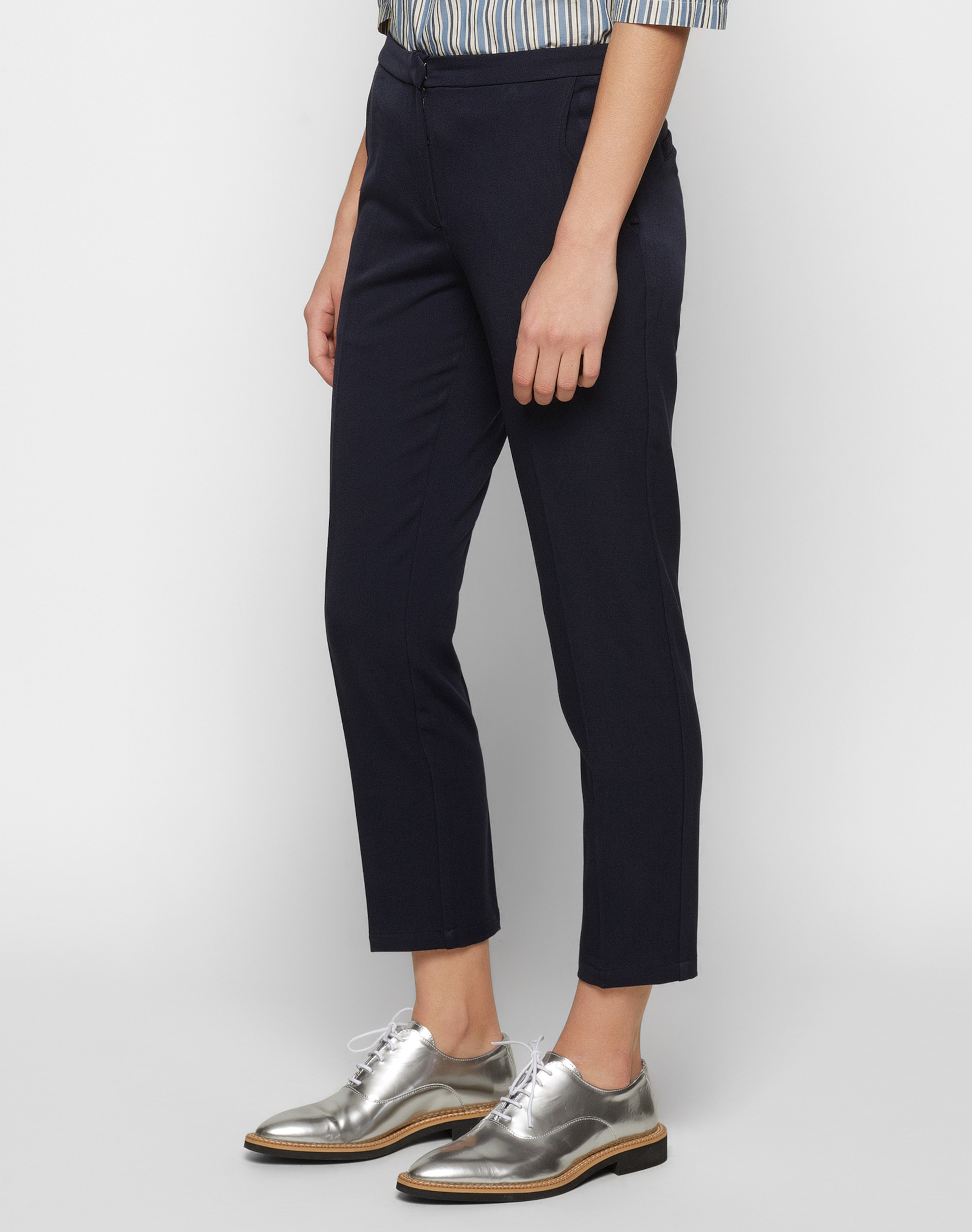 'halle' À Pince Marine Pantalon Bleu Minimum En OXukTZiP