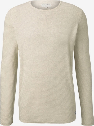 TOM TAILOR DENIM Pullover in hellbeige, Produktansicht
