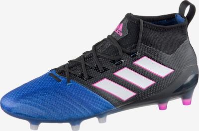 ADIDAS PERFORMANCE Fußballschuh 'Ace 17.1' in blau / lila / schwarz / weiß: Frontalansicht