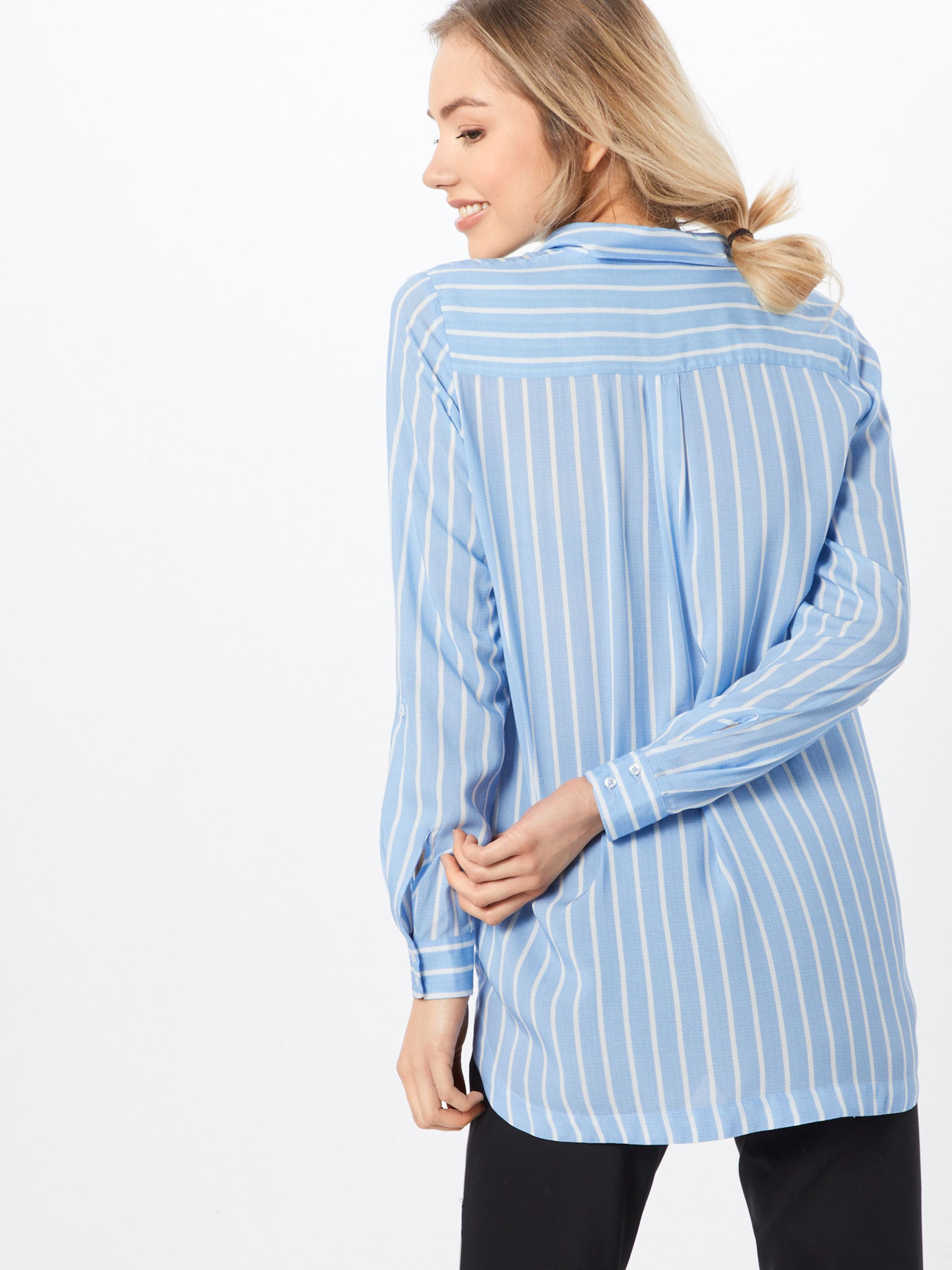 Moreamp; Bluse Moreamp; In HellblauWeiß Moreamp; HellblauWeiß In In Bluse Bluse HellblauWeiß thrCsQd