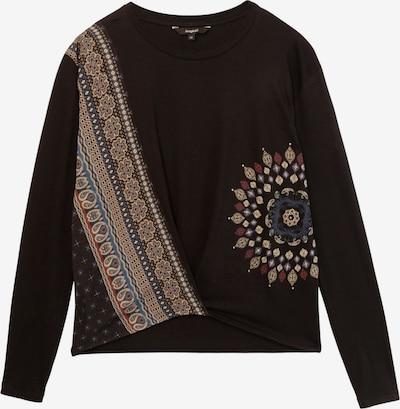 Desigual T-shirt 'MARSELLA' en mélange de couleurs / noir, Vue avec produit