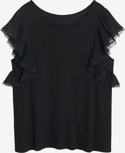 VIOLETA by Mango T-shirt waves in schwarz, Produktansicht