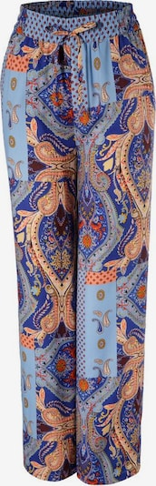 Aniston CASUAL Schlupfhose in blau / mischfarben, Produktansicht