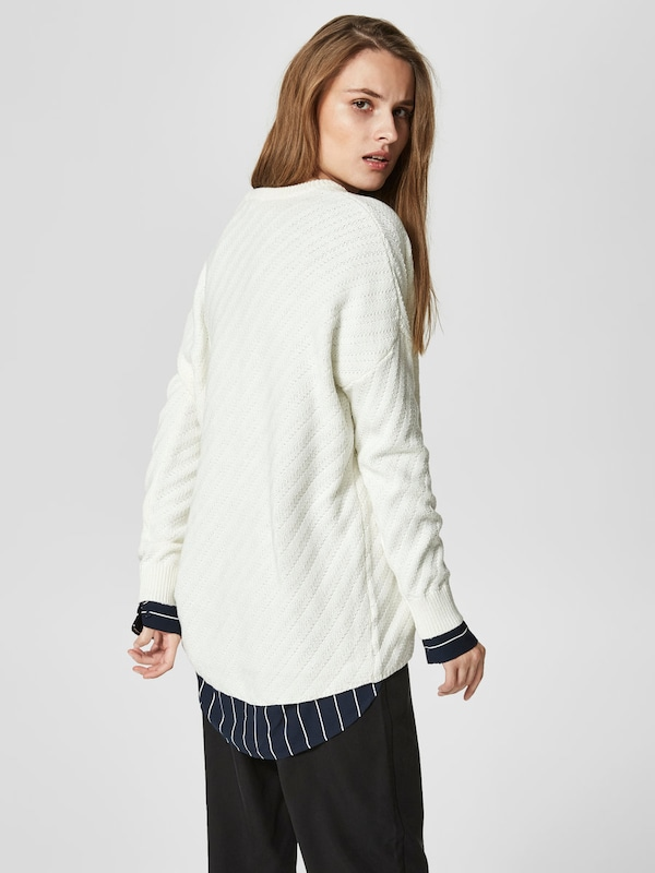 SELECTED FEMME Strickpullover Loose Fit