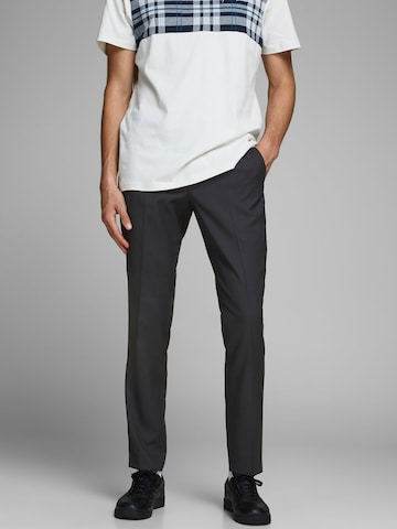 JACK & JONES Trousers with creases in Black