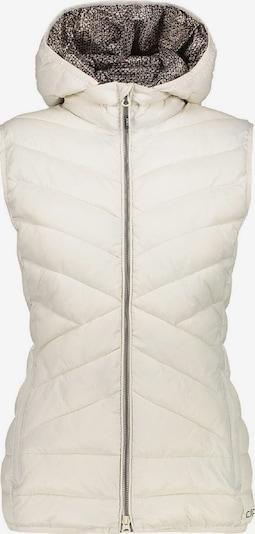 CMP Weste ' Vest Zip Hood ' in beige, Produktansicht