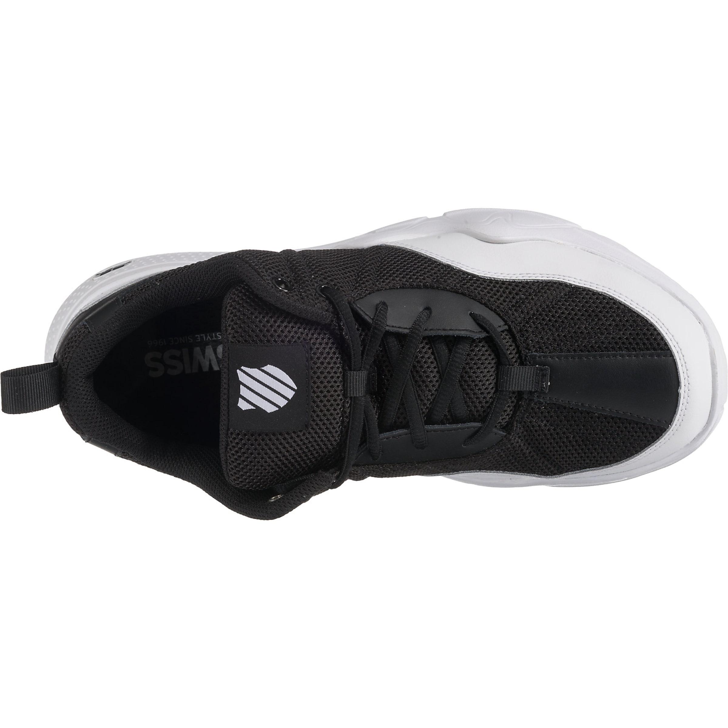 K 'cr Sneakers In swiss 329' SchwarzmeliertWeiß PwnOk0