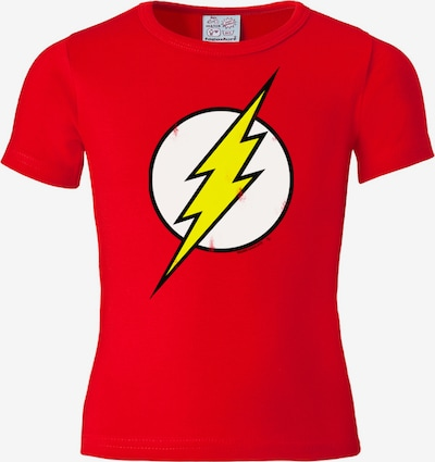 LOGOSHIRT T-Shirt 'Der Rote Blitz' in gelb / rot / weiß, Produktansicht