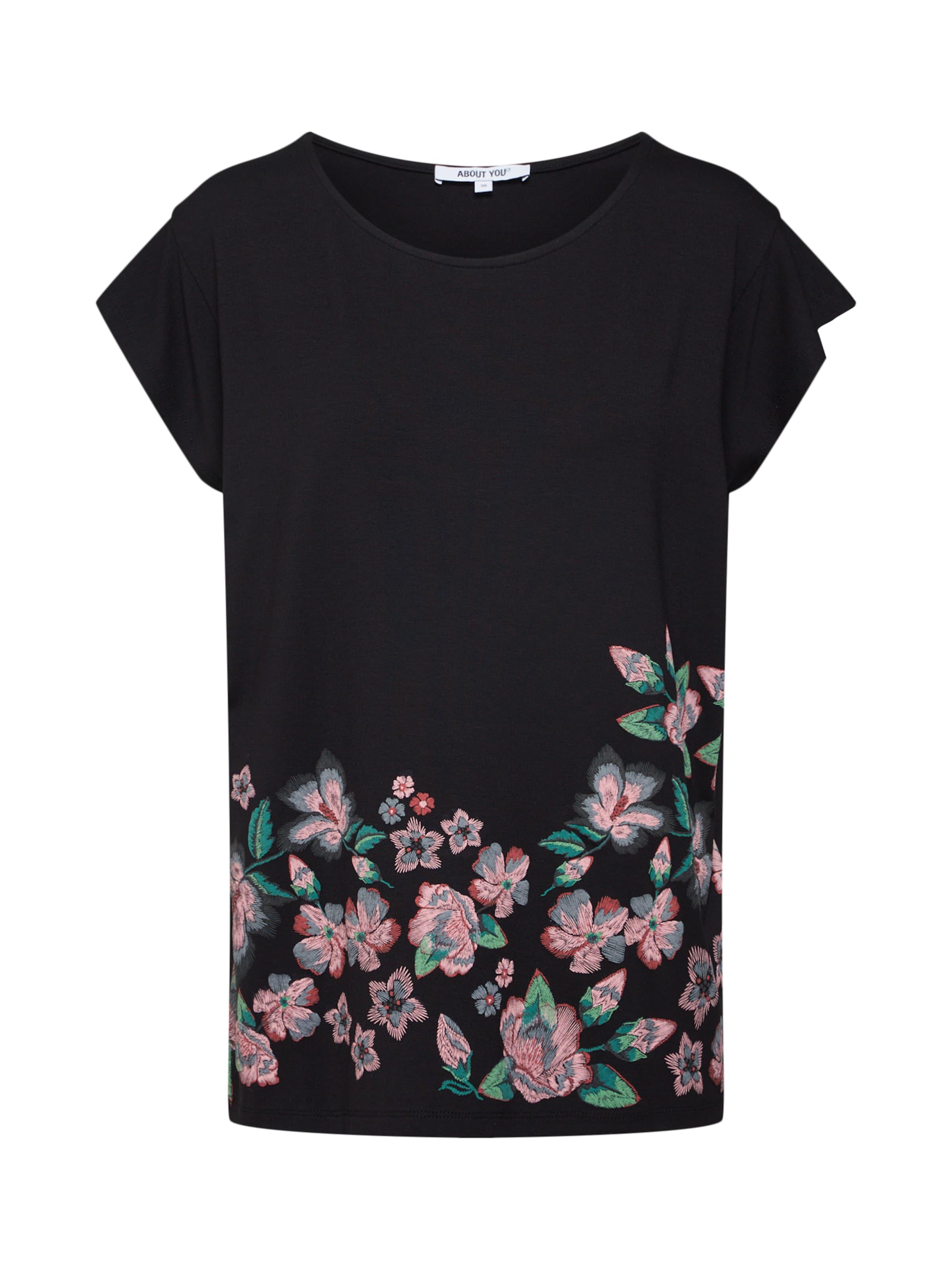 AncienneNoir Rose About You En shirt T 'sabrina' DYeEIWH29b