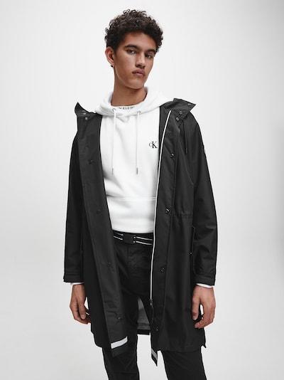 Calvin Klein Jeans Mantel in schwarz, Modelansicht