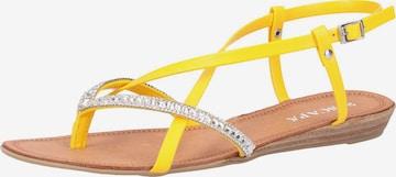 SCAPA Sandale in Gelb