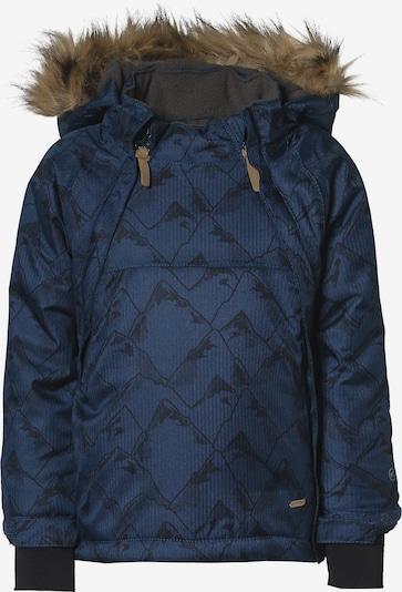 MINYMO Winterjacke in dunkelblau / schwarz, Produktansicht