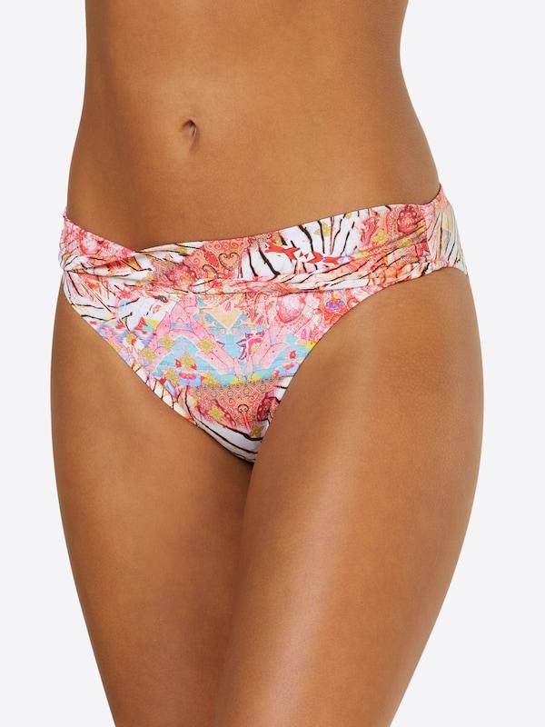 Bikini Blanc ClairMarron Bleu Rose Watercult Bas De En sxQhrtdC