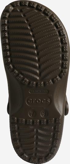 Crocs Sabots 'Classic W' en chocolat: Vue de dessous