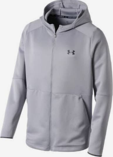 UNDER ARMOUR Sweatjacke in grau, Produktansicht