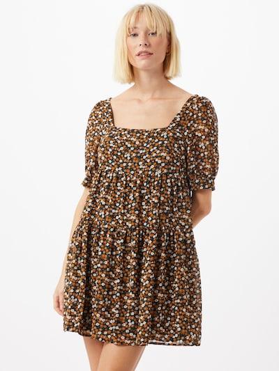 Fashion Union Kleid 'DARLA' in mischfarben / schwarz, Modelansicht