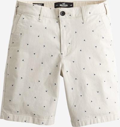 HOLLISTER Kalhoty 'Palm Tree' - krémová / modrá, Produkt