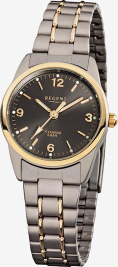 REGENT Uhr in gold / taupe, Produktansicht