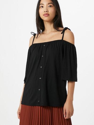 ESPRIT Shirt 'SG-070EE1K311' in schwarz: Frontalansicht