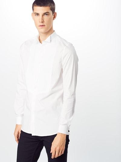 BURTON MENSWEAR LONDON Zakelijk overhemd in de kleur Wit: Vooraanzicht