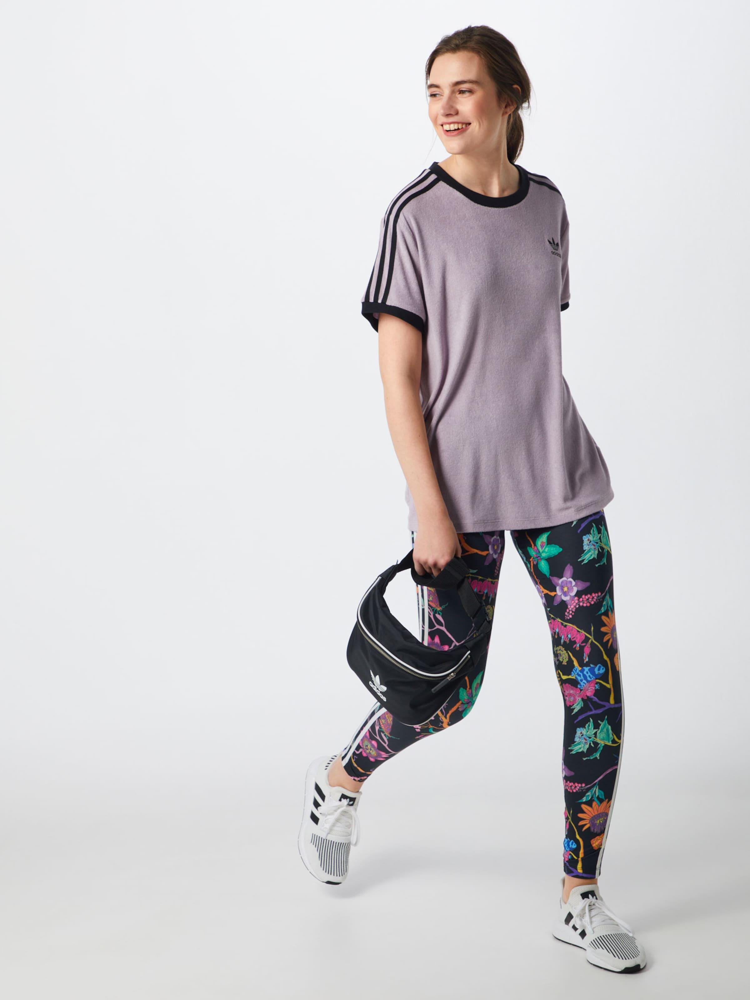 Originals PastelllilaSchwarz shirt In Adidas T SMGqUzVp