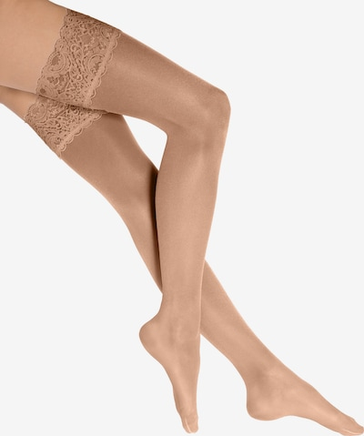 Wolford Stay-up 'Satin Touch 20' in nude, Produktansicht
