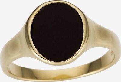 FIRETTI Ring in gold / schwarz, Produktansicht