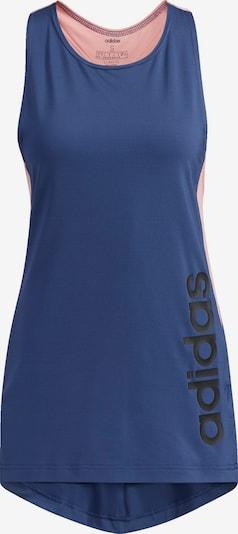 ADIDAS PERFORMANCE Sportski top u mornarsko plava / roza / crna, Pregled proizvoda