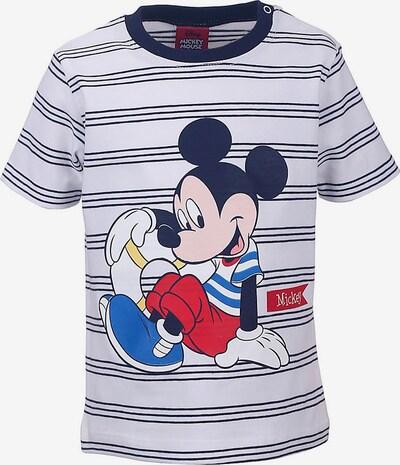 DISNEY T-Shirt in blau / weiß, Produktansicht