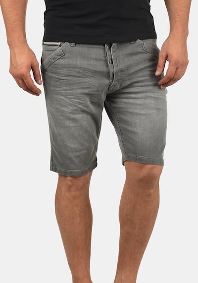 INDICODE JEANS Shorts 'Alessio' in grau / grey denim / hellgrau, Produktansicht