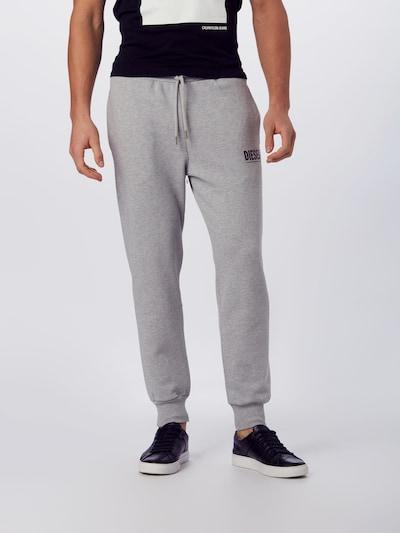 DIESEL Hose 'P-TARY-LOGO PANTALONI HOSE' in grau, Modelansicht