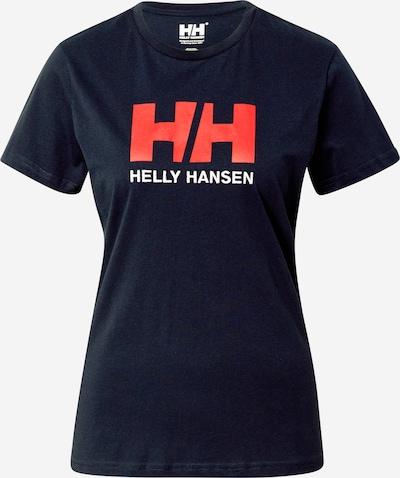 HELLY HANSEN T-shirt fonctionnel en bleu marine / rouge, Vue avec produit