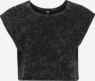 Urban Classics Curvy Shirt in Black