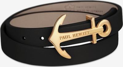 Paul Hewitt Armband in gold / schwarz, Produktansicht