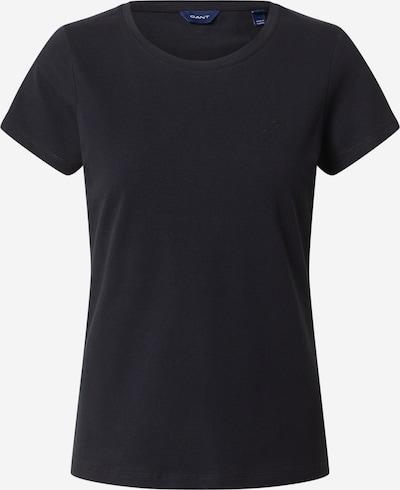 GANT T-Shirt in schwarz: Frontalansicht