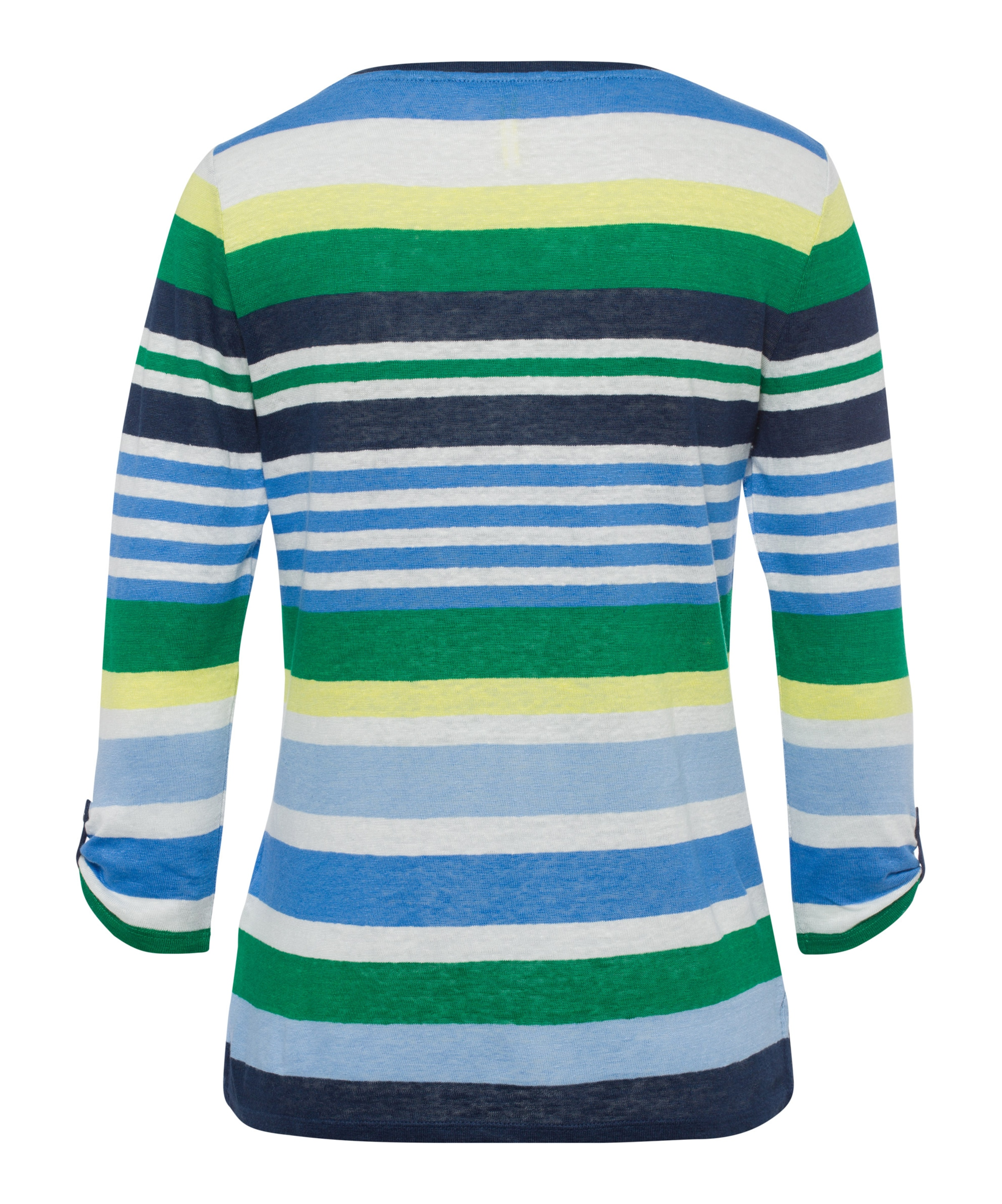 In Shirt Weiß Grün 'carol' Brax BlauGelb CedBxo