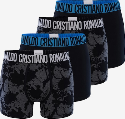 CR7 - Cristiano Ronaldo Trunks 'Fashion' in nachtblau / basaltgrau, Produktansicht