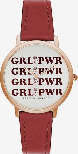 Rebecca Minkoff Uhr 'Major' in rot, Produktansicht