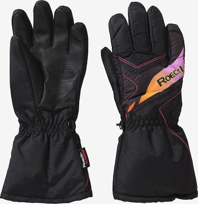 Roeckl SPORTS Fingerhandschuh 'ALBA' in mischfarben / schwarz, Produktansicht