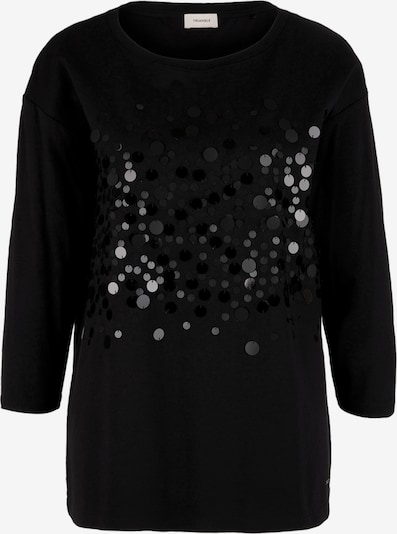 TRIANGLE Majica | črna barva, Prikaz izdelka