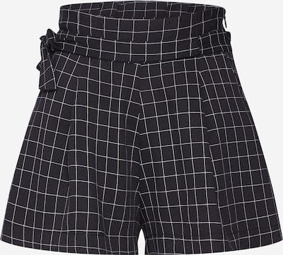 Pantaloni cutați Parallel Lines pe negru, Vizualizare produs