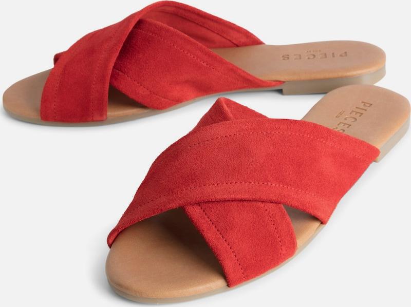 Pieces Suede Sandals