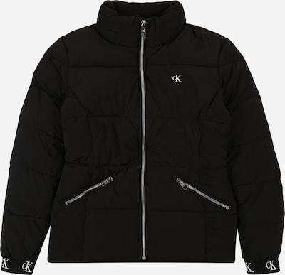 Geacă de iarnă Calvin Klein Jeans pe negru, Vizualizare produs