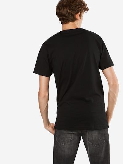 Mister Tee T-Shirt 'Paris' in schwarz: Rückansicht