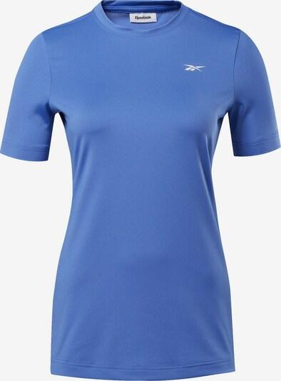 REEBOK Functioneel shirt in de kleur Smoky blue: Vooraanzicht