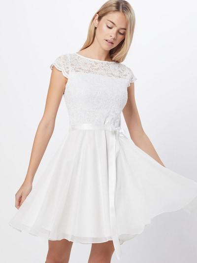 SWING Kleid in weiß, Modelansicht