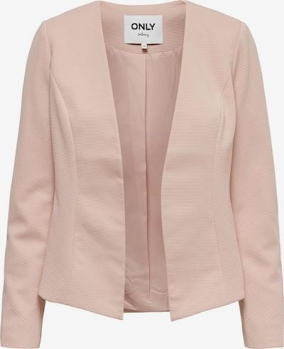 ONLY Kurzer Blazer in rosa: Frontalansicht
