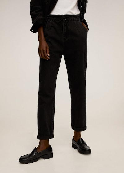 MANGO Jeans in schwarz: Frontalansicht