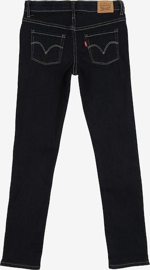 LEVI'S Jeans '711 Skinny Jean' in de kleur Blauw denim: Achteraanzicht